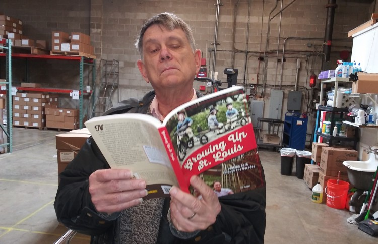 Jim with new book